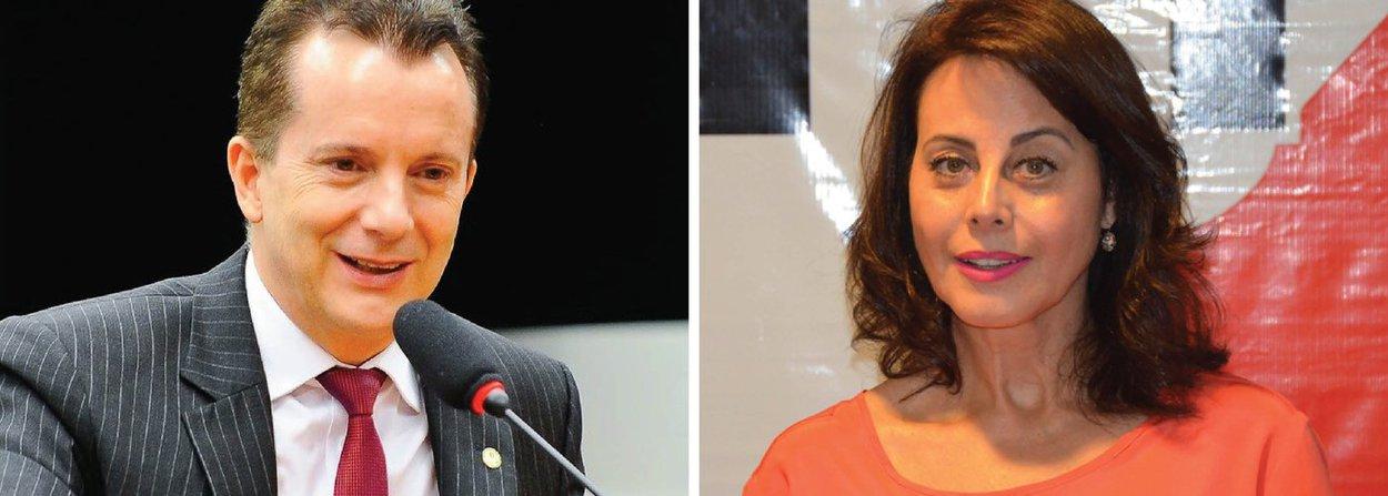 O candidato do PRB a prefeito de São Paulo, Celso Russomanno, acaba de firmar acordo com o PTB e terá Marlene Machado como vice em sua chapa à Prefeitura de São Paulo; o acerto foi fechado em reunião no início da noite desta segunda (25)
