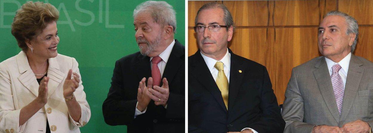 """Em entrevista ao Diário de Notícias, um dos principais jornais de Portugal, a presidente Dilma Rousseff disse que o cerco judicial ao ex-presidente Lula ocorre por razões políticas; """"As acusações contra ele são um absurdo. Eu trabalhei com o Lula, tenho a certeza de que ele é uma pessoa íntegra e correta. O que estão a fazer é a tentar impedir que ele seja candidato em 2018, se você olhar as sondagens, entende porquê: porque apesar da perseguição diária na televisão ele está na frente"""", disse ela; Dilma voltou a afirmar que o interino Michel Temer é um """"usurpador"""", sob influência direta de Eduardo Cunha, que manda em seu governo; """"Esse senhor colocou o presidencialismo em risco ao promover o golpe"""", afirmou, referindo-se a Cunha"""