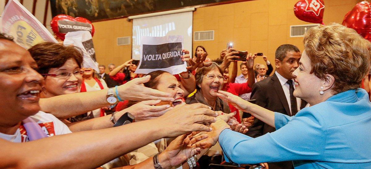 Arrecadação de verba para que a presidente eleita viaje pelo País denunciando o golpe parlamentar já havia arrecadado mais de R$ 288 mil, de 4.006 doadores, pela internet no segundo dia de campanha; a meta da campanha, chamada de Jornada pela Democracia, é chegar aos R$ 500 mil
