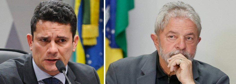 """Em resposta à defesa do ex-presidente Lula, que o acursou de ser parcial, o juiz Sérgio Moro afirmou em despacho que os grampos que pegaram o ex-presidente poderiam justificar a prisão temporária de Lula; ele, entretanto, decidiu por 'medida menos gravosa', no caso, a condução coercitiva do petista;""""Alguns diálogos sugeriam que o ex-presidente e associados tomariam providência para turbar a diligência, o que poderia colocar em risco os agentes policiais e mesmo terceiros"""", disse ele sobre o conteúdo de conversas interceptadas do ex-presidente"""