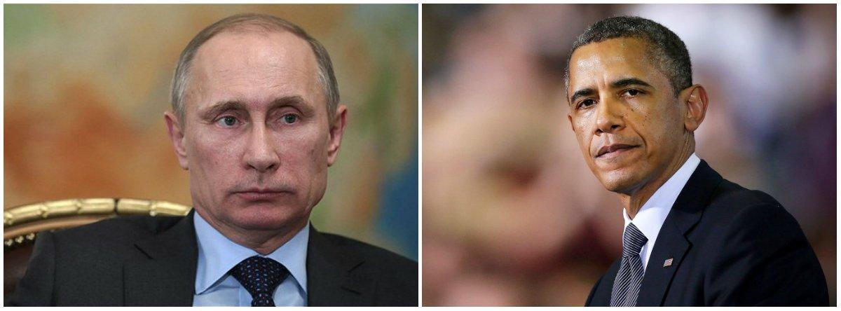 Comandada por Vladimir Putin, a Rússia elevou o tom da sua guerra de palavras contra Washington, dizendo que ataques aéreos feitos por uma coalizão liderada pelos EUA contra o Exército sírio ameaçavam a implementação de um plano de cessar-fogo acordado entre o país presidido por Barack Obama e Rússia sobre a Síria, e representava uma potencial conivência com o Estado Islâmico; a disputa diplomática se aqueceu no último dia de um cessar-fogo de uma semana seguido de um aumento na violência, à medida que aviões de guerra atacaram a estratégica cidade de Aleppo, norte do país, pela primeira vez desde que a trégua começou a valer