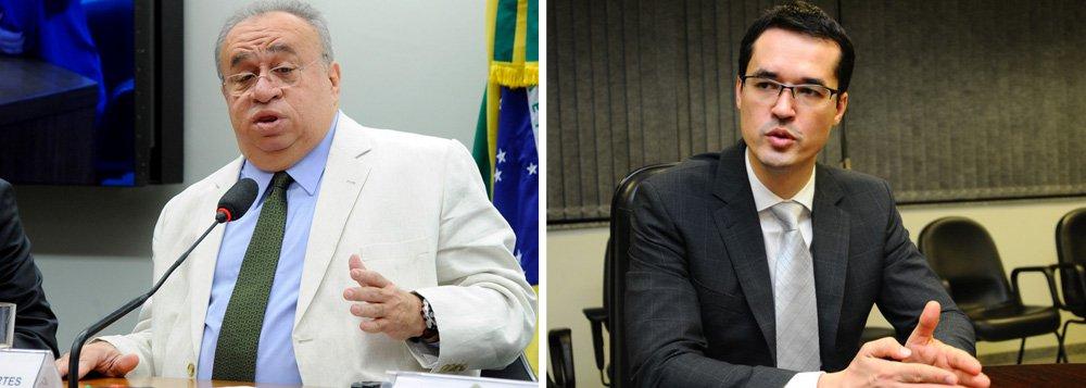 """Citado por Sérgio Machado, deputado Heráclito Fortes (PSB-PI), causou constrangimento ao afirmar ao procurador Deltan Dallagnol, coordenador da força-tarefa da Lava Jato que faz """"o que for preciso"""" para esclarecer o seu envolvimento na delação de """"um réu confesso"""", e falou na possibilidade de uma acareação e da quebra de seu sigilo telefônico"""