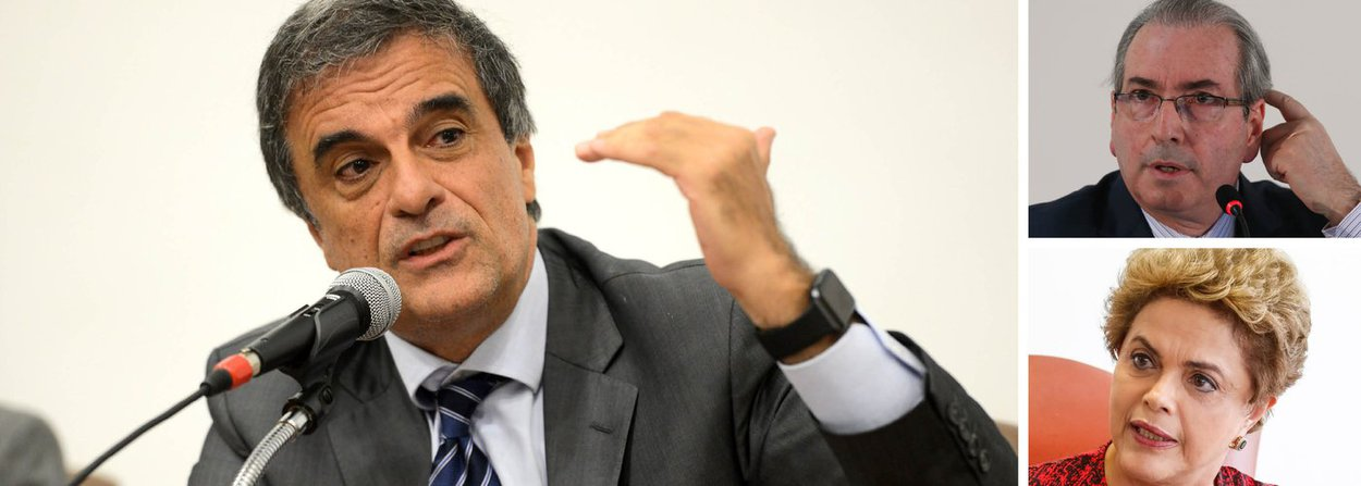 """Advogado da presidente eleita Dilma Rousseff no processo de impeachment, o ex-ministro José Eduardo Cardozo disse que incluirá na defesa declarações de Eduardo Cunha (PMDB-RJ) feitas nesta quinta-feira; """"Fortalece as provas a favor da presidente Dilma sem sombra de dúvidas. Eu posso afirmar que, considerando as provas que existem contra ele, a fala dele mostra o papel que ele teve no processo de impeachment que afastou um governo que se negou a ceder ao que ele pedia"""", afirmou Cardozo; em seu discurso de renúncia, Cunha disse que a abertura do processo de impeachment """"foi o marco"""" de sua gestão, """"que muito me orgulha e que jamais será esquecido"""""""