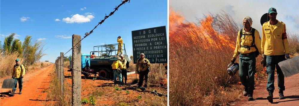 A área queimada em incêndios florestais no Distrito Federal atingiu 12.396,93 hectares (cada hectare corresponde a 10 mil metros quadrados, um quadrado com laterais de cem metros) de janeiro a agosto deste ano; a área queimada é 143,6% maior do que a atingida por incêndios no mesmo período do ano passado, quando 5.087,98 hectares foram atingidos; entre janeiro e 14 de setembro de 2016, os bombeiros receberam 5.542 pedidos de atendimento, índice 10,6% maior que o registrado em todo ano de 2015 (5.010)