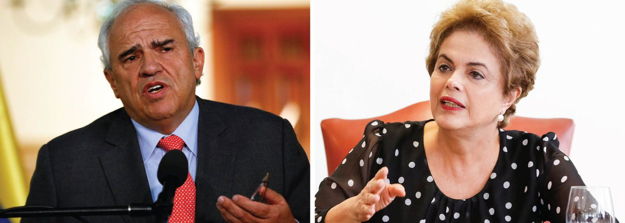 """Secretário-geral da União das Nações Sul-Americanas (Unasul), Ernesto Samper, defendeu """"que a presidenta tenha o direito de legítima defesa"""" e afirmou que """"não há uma imputação que razoavelmente possa levar a pensar hoje que se justifica sua desvinculação permanente do Poder Executivo""""; segundo ele, o resultado do impeachment afetará a região; """"O Brasil é um ator muito poderoso na região, pesa muito, e seria ingênuo desconhecer que o que acontece no Brasil não vai, de alguma forma, afetar para o bem ou para o mal o que acontece na região. E isto não é uma exceção"""""""