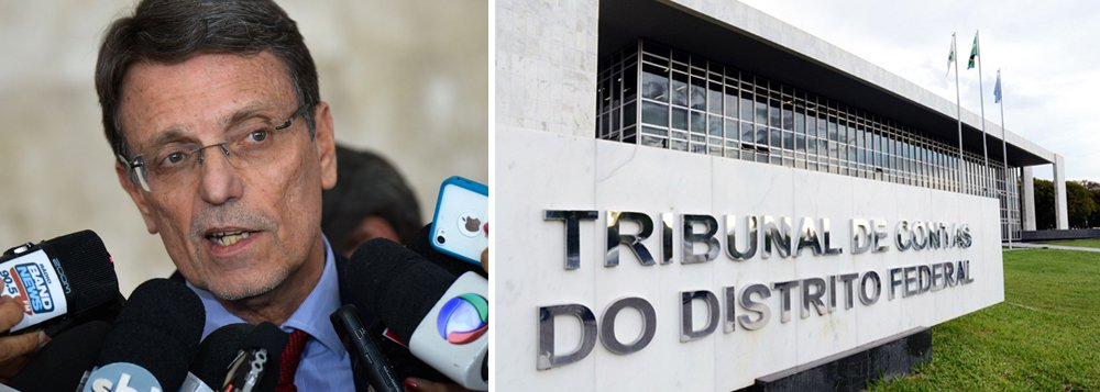 """Colunista do Jornal de Brasília, Hélio Doyle afirma que o """"deputado Chico Vigilante, do PT, cobrou do Tribunal de Contas do DF a liberação da licitação para contratar empresas de vigilância para o governo de Brasília""""; segundo o jornalista, """"com a licitação, no valor de cerca de R$ 500 milhões, serão contratados 7.500 vigilantes""""; jornalista diz que""""o TCDF, porém, segura o processo há meses""""; de acordo com ele, """"o tribunal tem impedido o andamento de muitas concorrências a pretexto de aprovar previamente os editais e verificar se há irregularidades"""";Doyle avalia que os conselheiros """"fazem jogo duro e seguram os processos"""""""