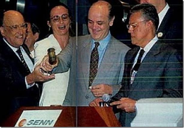O golpista Pedro Parente é presidente da Petrobras e deveria ser preso com uma pena de 50 anos, se o Brasil fosse sério. A acusação seria de traição, conspiração e de ações de lesa-pátria