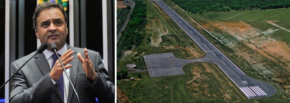Agência Nacional de Aviação Civil (Anac) homologou o aeroporto de Cláudio, no centro-oeste mineiro, após cinco anos do início do processo; construção do aeródromo foi alvo de investigação por improbidade administrativa por ter sido realizada em terras de familiares do senador Aécio Neves (PSDB) em 2010, quando ele era governador; em 2015, porém, o Ministério Público de Minas Gerais (MPMG) pediu o arquivamento do caso
