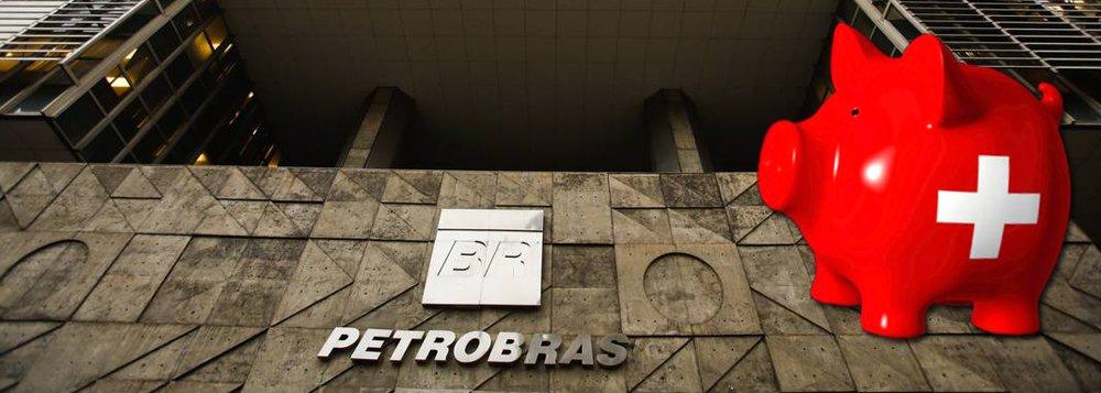 """Suíça deu acesso ao Brasil a contas bancárias de políticos e executivos da Petrobras, que podem ajudar nas investigações sobre corrupção na estatal; segundo a Procuradoria-Geral da Suíça, foram relatadas cerca de 340 relações bancárias suspeitas no caso, que resultaram em cerca de 60 inquéritos e no congelamento de cerca de US$ 800 milhões desde 2014; autoridades suíças pediram documentos relacionados a mais de mil contas de mais de 40 bancos; donos das contas suíças são """"membros seniores da Petrobras e suas fornecedoras, intermediários financeiros, políticos brasileiros e direta ou indiretamente companhias brasileiras ou estrangeiras"""", disse a procuradoria"""