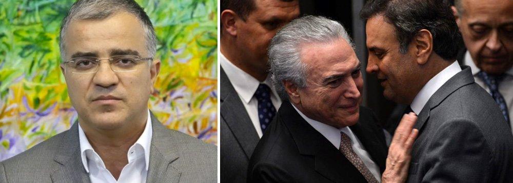 """Jornalista afirma que PMDB e PSDB temem passar a sofrer os efeitos que o PT já enfrentou na Operação Lava Jato; segundo ele, as delações mais preocupantes são as dos executivos da Odebrecht, mas políticos das duas siglas temem também novas revelações da Andrade Gutierrez;""""O presidente Michel Temer tem ciência de que o sucesso ou fracasso do seu governo dependerá da economia. No entanto, a Lava Jato pode ser um fator político de desestabilização"""", afirma"""