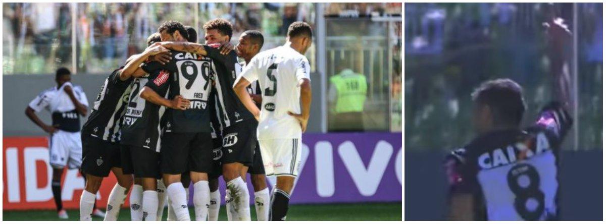 O canto do Galo foi especial, de vitória; com grande atuação no Independência, o Atlético-MG bateu a Ponte Preta por 3 a 0; a equipe mineira chegou a dez pontos e deixou a zona de rebaixamento do Campeonato Brasileiro, chegando ao 13º lugar. Fora de casa, no Barradão, a Chapecoense também fez bonito e bateu o Vitória por 2 a 1; os catarinenses somam 14 pontos e entraram momentaneamente no G-4, na quarta posição, mas podem ser ultrapassados até o fechamento desta 9ª rodada