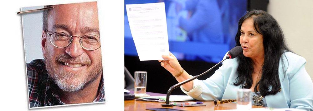 """Para o jornalista Paulo Nogueira, do Diário do Centro do Mundo (DCM), a confissão da senadora Rose de Freitas (PMDB-ES), de que """"não teve esse negócio de pedalada"""" sobre o motivo do afastamento da presidente eleita Dilma Rousseff (leia aqui), mostra que o impeachment é """"uma farsa, um circo, um crime"""";""""O que as futuras gerações dirão sobre o que está ocorrendo? Como jovens brasileiras e brasileiros lidarão com a vergonha suprema do impeachment? Como vão encarar um capítulo da história tão baixo, tão cínico, tão mentiroso?"""", questiona"""