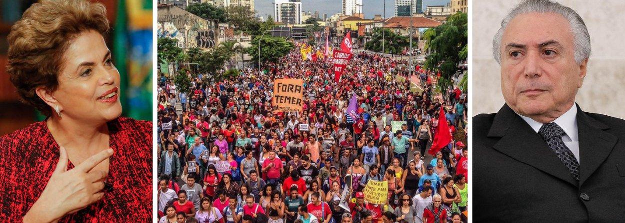 """""""Mesmo que tudo dê certo e Dilma consiga sair-se vitoriosa na votação definitiva do impeachment, chega a ser ingenuidade infantil imaginar que Michel Temer e seus aliados irão curvar diante da derrota e, cavalheirescamente, abandonar a luta em nome do respeito às regras da democracia"""", escreve o colunista do 247 Paulo Moreira Leite; """"Empenhados, desde as eleições de 2014 - e até antes disso - em tomar o poder de assalto por qualquer meio ao seu alcance, não há motivo para imaginar que irão resignar-se com uma derrota agora. Teremos uma luta difícil e duradoura. Por essa razão, mais do que nunca a mobilização popular deve ser estimulada"""", ressalta o jornalista; leia a íntegra"""
