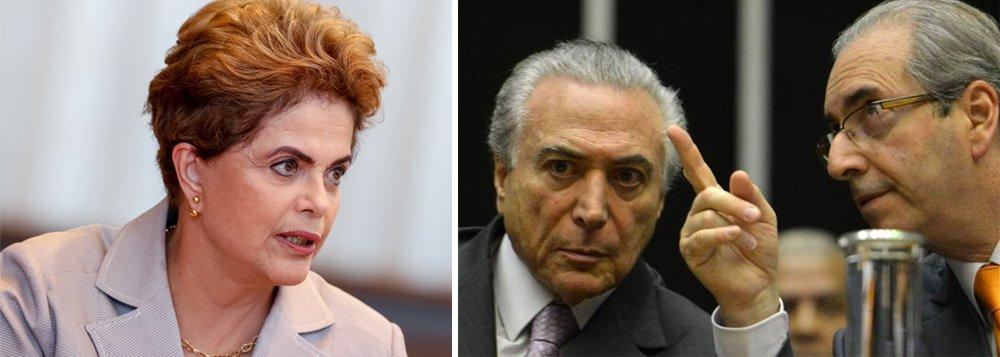 """Com ironia, a presidente eleita Dilma Rousseff voltou a questionar nesta quarta-feira 29, em entrevista à rádio Panorâmica, da Paraíba, o encontro ocorrido no último domingo, na residência oficial da vice-presidência, entre o interino Michel Temer e o deputado afastado Eduardo Cunha; """"Fica visível que o vice-presidente é capturado pelo Cunha, que tem duas denúncias do STF, acusações de lavagem de dinheiro, contas no exterior..."""", destacou Dilma, lembrando que o Supremo """"proibiu este senhor de ir à Câmara dos Deputados""""; ela revelou ainda uma """"desilusão"""" com """"alguns ex-ministros"""", que votaram a favor do impeachment, a quem chamou de traidores; e reafirmou que a perícia do Senado comprova que """"não há crime"""" cometido por ela e que, portanto, o que acontece é um golpe"""
