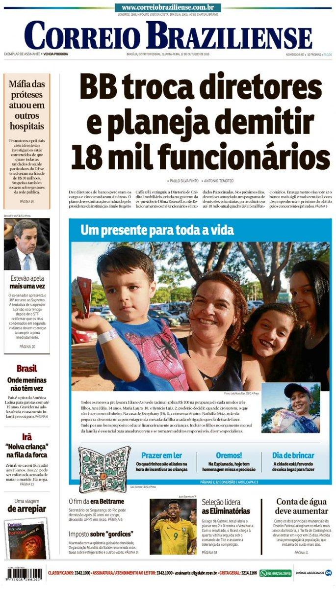 Fico imaginando o que será desses 18 mil funcionários do Banco do Brasil que aceitarem aderir ao programa de demissão voluntária, com o país em plena recessão, mercado de trabalho em baixa e que não contrata ninguém. O que será destas pessoas?