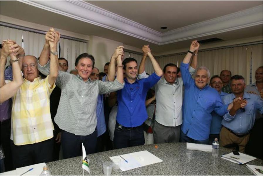 Em encontro na sede do partido nesta sexta (8), o PMDB anunciou que irá apoiar o deputado estadual Capitão Wagner (PR) na disputa pela Prefeitura de Fortaleza este ano. Com o acerto, os peemedebistas irão indicar o vice da chapa
