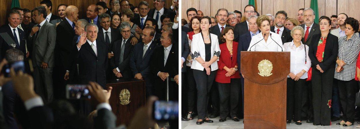 """""""Brasileiro tem mania de colocar apelido em tudo. Até em golpe. Vários golpes ou tentativas de golpe da história do Brasil ganharam apelidos, sempre altissonantes. Tal como hoje, quando está em curso mais um, pois não há crime da presidente, como requer a constituição, mas os golpistas, a classe média e os meios de comunicação tradicionais preferem apelidar de impeachment""""; a análise é do colunista Alex Solnik, que faz uma comparação com outros golpes que já ocorreram no país"""