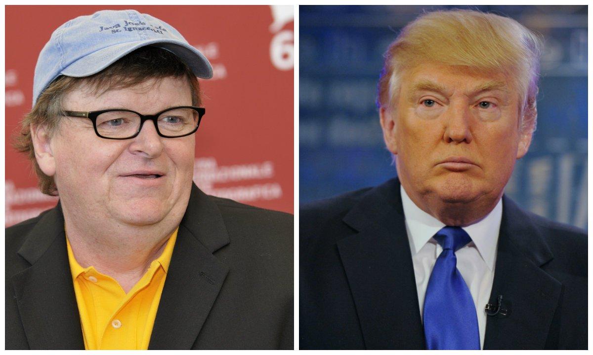"""Um dos principais pensadores da esquerda norte-americana, o cineasta Michael Moore apontou, em carta aos amigos, cinco razões pelas quais Donald Trump será eleito presidente norte-americano em novembro; entre elas, ele cita a """"revolta do homem branco"""", as fragilidades de Hillary Clinton e a depressão dos eleitores de Bernie Sanders, que não se enxergam em Hillary; confira"""