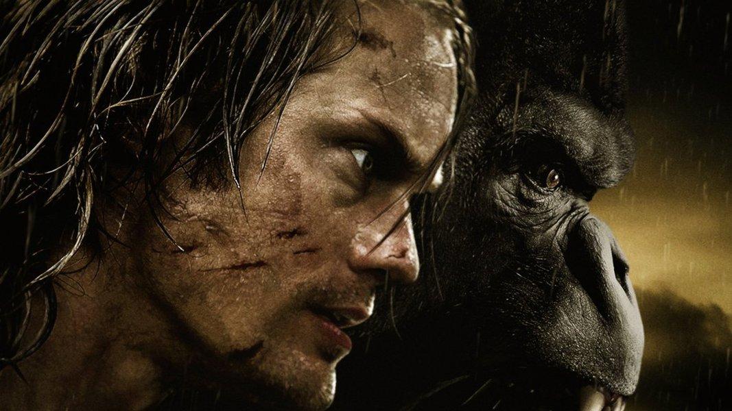 """A Lenda de Tarzan"", programado para estrear nos cinemas norte-americanos na sexta-feira, traz o Tarzan, interpretado pelo ator sueco Alexander Skarsgard, com o nome de John Clayton, morando num solar na Inglaterra vitoriana e casado com Jane, interpretada por Margot Robbie"