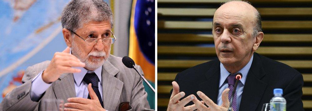 Ex-ministro das Relações Exteriores no governo Lula e da Defesa no governo Dilma, Celso Amorim afirma que, pela necessidade de obter recursos a curto prazo, Brasil pode ser levado a opções erradas na política externa com José Serra