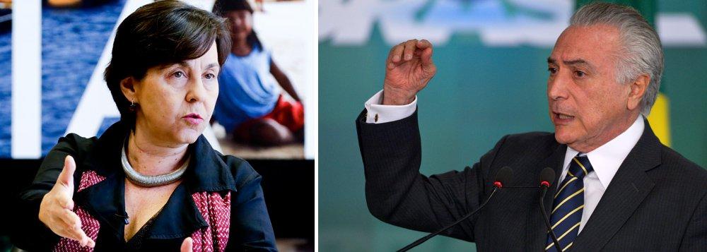 """Ex-ministra do Desenvolvimento Social e Combate à Fome no governo Dilma, Tereza Campello, aponta a contradição dos críticos do governo do PT e do Bolsa Família depois que o governo interino de Michel Temer anunciou, nesta quarta-feira 29, um reajuste de 12,5% para o programa a partir de julho; """"Diziam que a autorização dada por Dilma era ilegal, que era irresponsabilidade fiscal e era eleitoreira. Agora pode?"""", questiona Tereza, sobre o aumento de 9% anunciado por Dilma em maio desse ano; para ela, o reajuste anunciado hoje foi um recuo do governo interino, que achou que """"iria ficar impune"""" ao """"não conceder o reajuste anunciado pela Presidenta Dilma"""""""