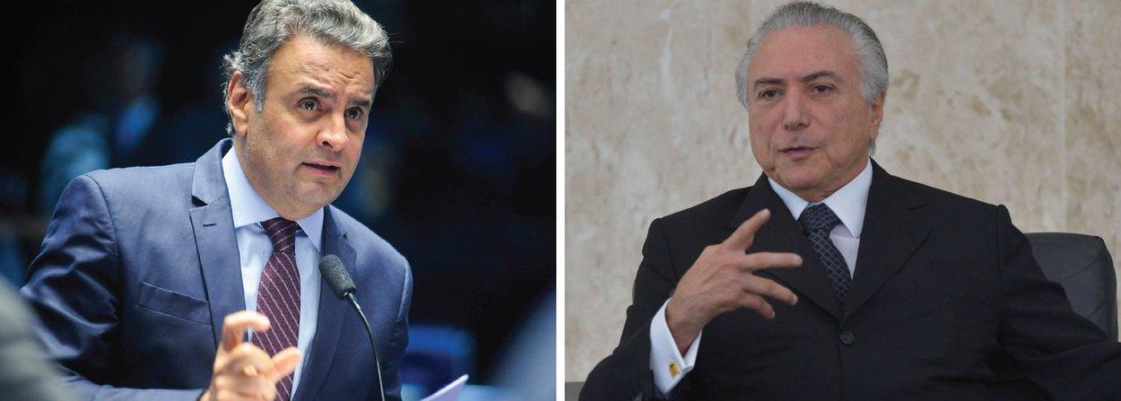 """Um dos principais responsáveis pela crise política e econômica, o senador Aécio Neves (PMDB-MG), que jogou o Brasil na fogueira ao incitar o golpe, emitiu seus primeiros sinais de descontentamento com o interino Michel Temer e disse que o apoio do PSDB a ele não é incondicional; parlamentar manifestou preocupação com o que chamou de """"sinais trocados"""" na condução da economia, ao cortar gastos de um lado, mas conceder benefícios de outro;""""Ele teve o mérito de montar uma equipe econômica qualificada, mas esses sinais trocados foram o ponto negativo nesse início de governo"""", disse; """"Nós apoiamos o governo Michel por responsabilidade com o País, mas não apoiamos cegamente e fomos nós que alertamos da inconveniência desses sinais e aumentos neste momento"""", completou"""
