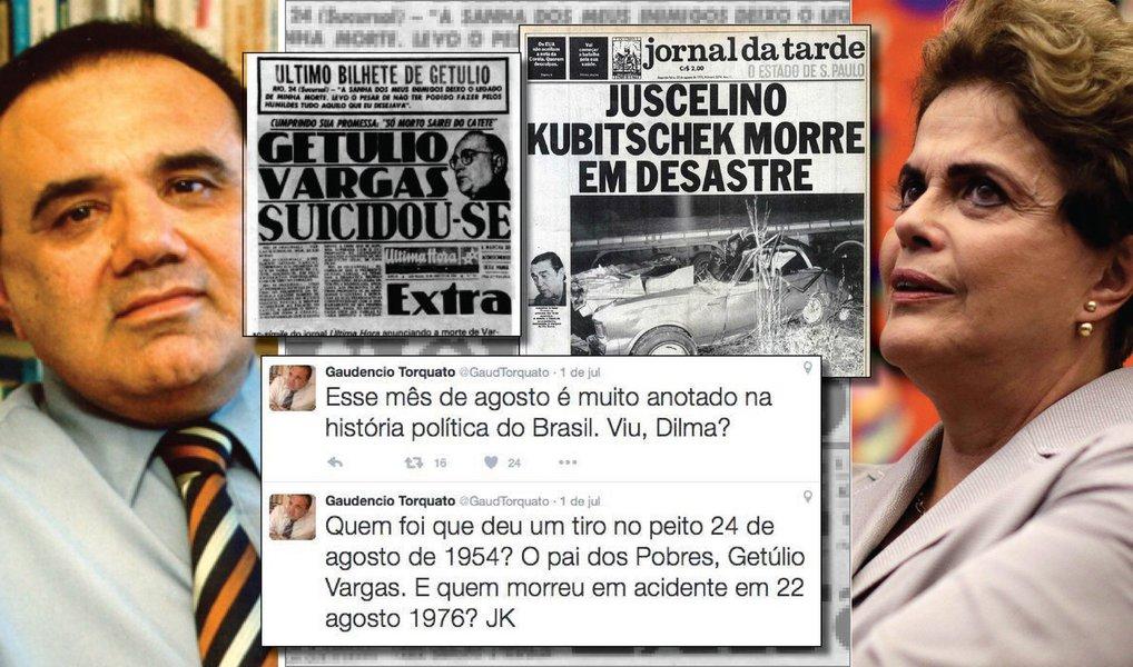 A ação de Torquato é claramente um ato de incitação à violência e como tal deve ser tratada e punida pela Justiça brasileira