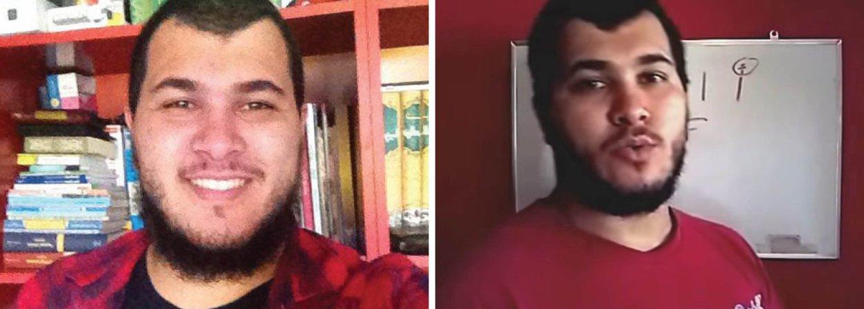 """O paulista Vitor Magalhães foi preso na manhã desta quinta-feira, acusado de envolvimento com supostos atentados terroristas na Olimpíada; Larissa Rodrigues, de 24 anos, diz ainda que Vitor não possuía Telegram; """"Os únicos grupos que ele tinha no WhatsApp sobre o islã, eram os de árabe, porque ele dá aula pelo youtube e responde as dúvidas por mensagem"""", conta; o jovem apareceu em reportagem da última edição da Veja sobre terrorismo, que afirmou que ele fez juramento ao Estado Islâmico"""