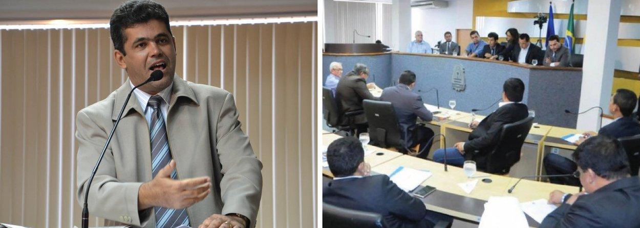 Com a pauta trancada desde o dia 30 de março, os vereadores de Palmas entraram em recesso; de acordo com o vereador, Milton Neris (PP), a pauta estava trancada em função de medidas provisórias de autoria do Poder Executivo que tramitam na Casa de Leis.Só após a apreciação destas matérias é que outros projetos poderão entrar na pauta de votação; a Mesa Diretora da Câmara convocou os parlamentares para uma sessão extraordinária na tarde dessa quinta-feira, mas não houve consenso