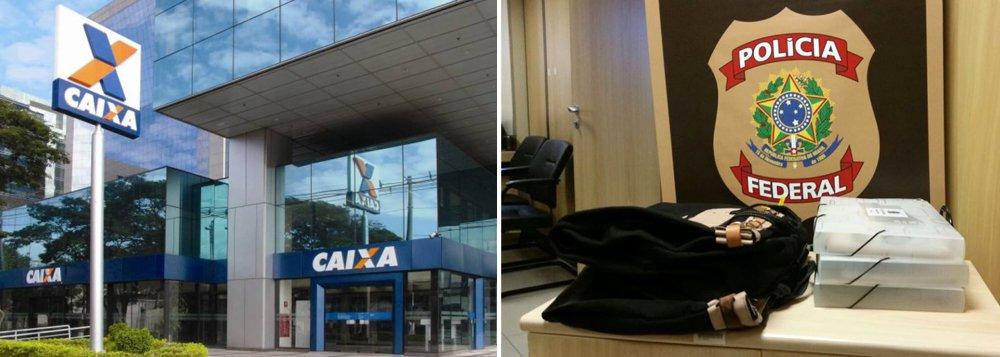 Segundo investigações, uma conta bancária foi invadida por meio de acessos ilícitos ao Internet Banking da Caixa Econômica Federal, e os suspeitos receberam transferências ilegais em suas contas;Operação Patrocíniocumpre 13 mandados de busca apreensão no Distrito Federal, em Goiás e em São Paulo
