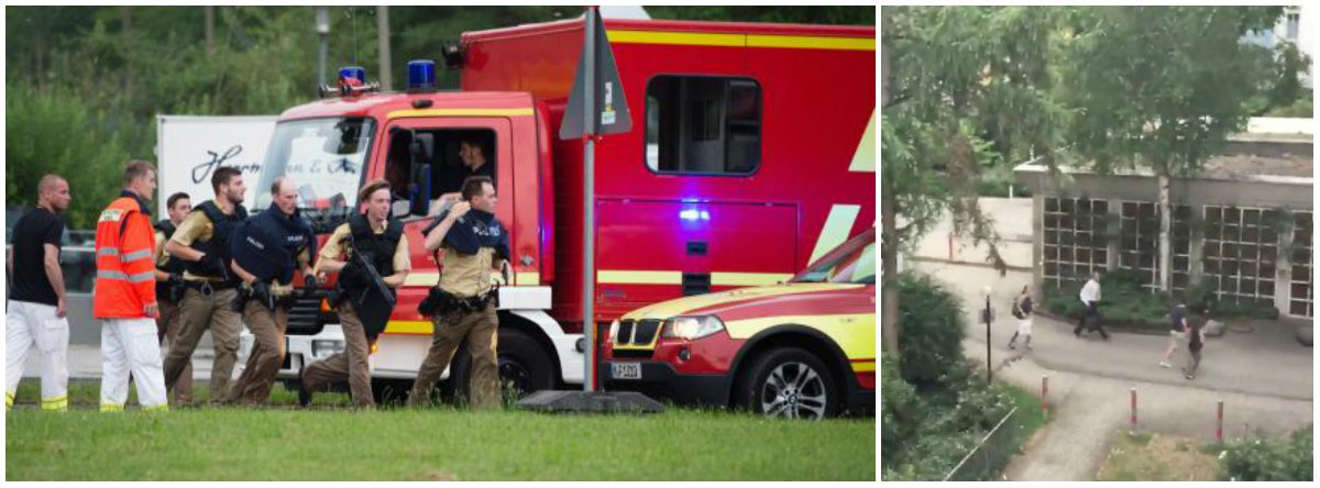"""O adolescente de 18 anos que matou nove pessoas a tiros em Munique era """"obcecado"""" com assassinos em massa, entre eles o fanático norueguês de extrema direita Anders Behring Breivik, mas não tinha ligações com o Estado Islâmico, segundo informações divulgadas pela polícia alemã; autoridades afirmaram que David Ali Sonboly, um estudante alemão de ascendência iraniana, tinha um histórico de doença mental; o jovem se suicidou após matar nove pessoas no tiroteio"""