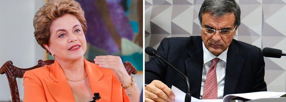 """Ex-ministro José Eduardo Cardozo lê depoimento da presidente Dilma Rousseff na comissão do impeachment do Senado; em sua defesa por escrito, Dilma diz: """"o que mais dói é perceber que sou vítima de uma farsa jurídica e política""""; """"Jamais desviei um centavo do patrimônio público para o meu enriquecimento pessoal ou de terceiros"""", afirmou ainda a presidente; após a leitura da defesa, a comissão só voltará a se reunir no dia 2 de agosto, para ouvir a leitura do relatório do senador Antonio Anastasia (PSDB-MG); etapa de produção de provas foi encerrada; confira a íntegra do documento"""
