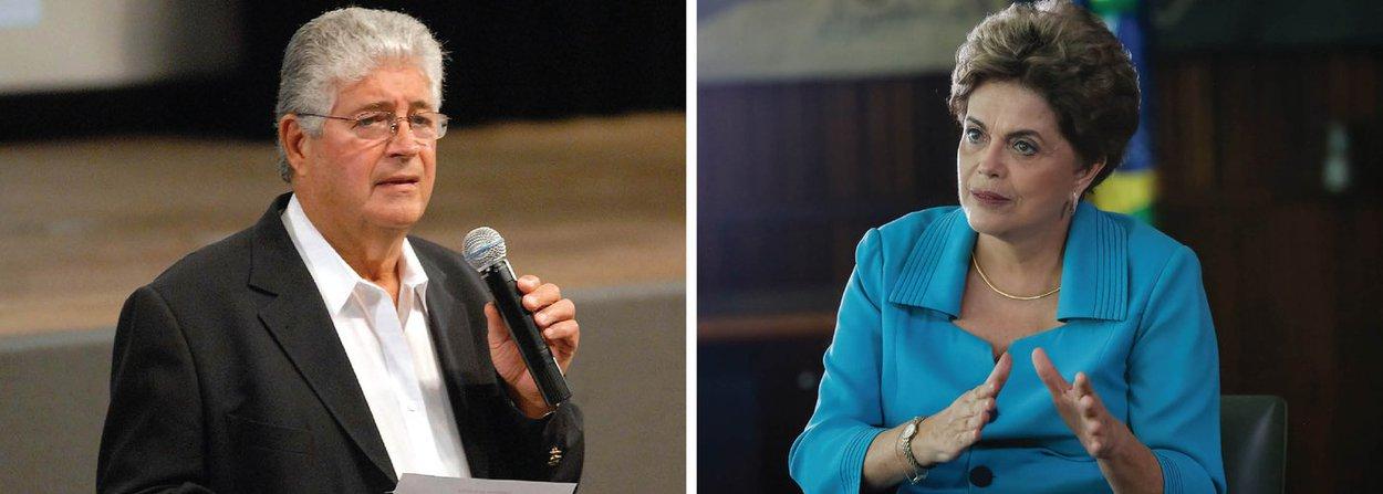 """Após reunião com a presidente eleitaDilma Rousseff, líderes de partidos e de movimentos sociais, o senador Roberto Requião (PMDB-PR) disse que o Brasil dá passos largos rumo ao plebiscito; de acordo com o parlamentar, a CUT, o MST e o MTST pediram três dias para afinar o discurso com suas respectivas bases, sob o mote de derrubar o governo ilegítimo deMichel Temer (PMDB); mais cedo, pelo Twitter, Requião bateu duro no presidente interino: """"novo governo ferra o povo"""";também participaram da reunião os presidentes do PCdoB, Renato Rabelo; do PDT, Carlos Lupi; e do PT, Rui Falcão"""