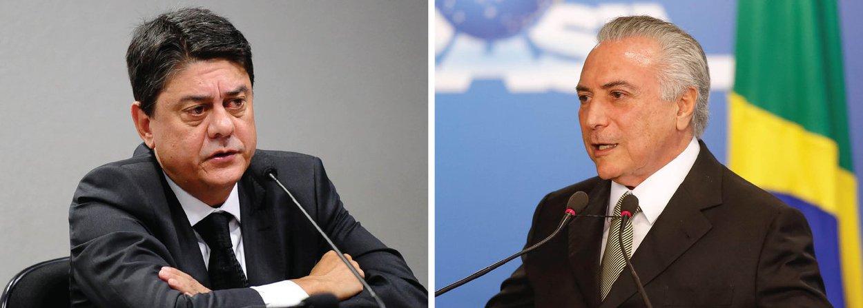 """Deputado Wadih Damous (PT-RJ) lembra que o processo de impeachment contra o presidente interino """"está paralisado desde a época de Eduardo Cunha por motivação política. Não tocar o processo faz parte do processo golpista""""; """"Compete à liderança do PT pedir providências para instaurar a comissão"""", acrescenta; em abril, o ministro Marco Aurélio Mello, do STF, determinou que o então presidente da Câmara, Eduardo Cunha (PMDB-RJ), recebesse um dos pedidos de impeachment contra Temer e enviasse o caso para análise de uma comissão especial a ser formada na Casa"""