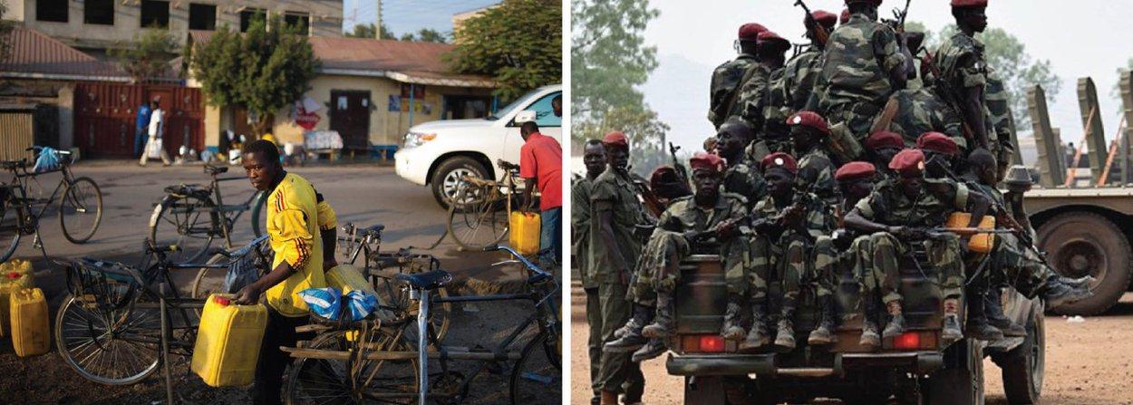 """Ministério das Relações Exteriores divulgou nota informando que """"o governo brasileiro acompanha com preocupação a situação no Sudão do Sul, onde enfrentamentos armados na capital Juba resultaram, ontem, em grande número de mortes. O governo brasileiro condena o uso da violência e expressa sua solidariedade ao povo do Sudão do Sul""""; também em nota, o ministério informou que """"o governo brasileiro lamenta e condena o ataque ocorrido contra uma das sedes da polícia do estado de Portuguesa, no centro-oeste da Venezuela, que deixou dezenas de feridos e um policial morto"""