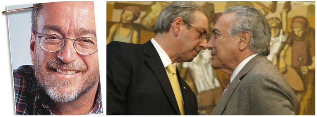"""""""Terá sido um lance de marketing para Moro mostrar que não é durão apenas contra o PT? Se sim, foi inútil pelo tempo absurdo que Cunha gozou em liberdade mesmo depois de flagrado com contas na Suíça"""", escreve Paulo Nogueira, do Diário do Centro do Mundo; ele comenta o temor que à prisão de Cunha se siga a de Lula e afirma: """"Já fervem as especulações em torno de uma delação premiada de Cunha. Que sobrará de Temer e seu governo caso ela ocorra? Nada"""""""