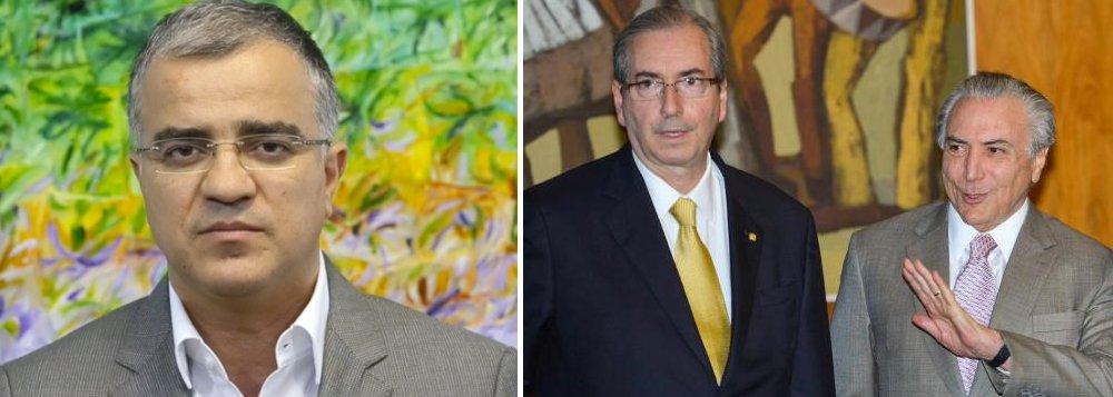 """""""Nos bastidores, o governo avalia que Cunha vai morrer atirando, porque é o estilo dele. Temer tem dito a interlocutores que está preparado para enfrentar Cunha"""", diz o jornalista Kennedy Alencar"""