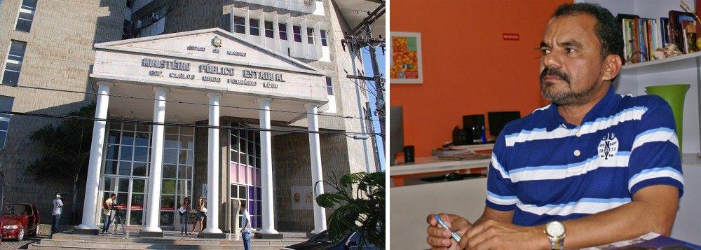 O Ministério Público Estadual (MPE) denunciou e pediu a prisão do prefeito de Monteirópolis, Elmo Antônio Medeiros, e mais 11 pessoas por supostos crimes contra a administração pública; eles são acusados de terrem causado um prejuízo de mais de R$ 2,5 milhões entre os anos de 2013 e 2015 através de contratos de locação de veículos e aquisição de combustíveis