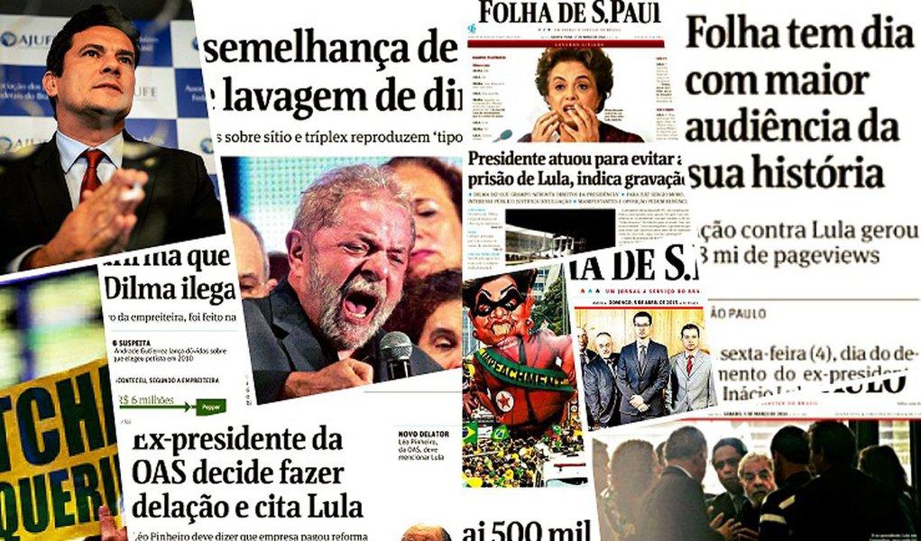 Levantamento do GGN mostra que o núcleo da Lava Jato em Curitiba nunca teve tanto destaque no noticiário como nas semanas que antecederam a votação do impeachment na Câmara; coerção de Lula, delação de Delcídio e vazamento de áudio da presidente eleita ajudaram a criar o clima para o afastamento, segundoCíntia Alves