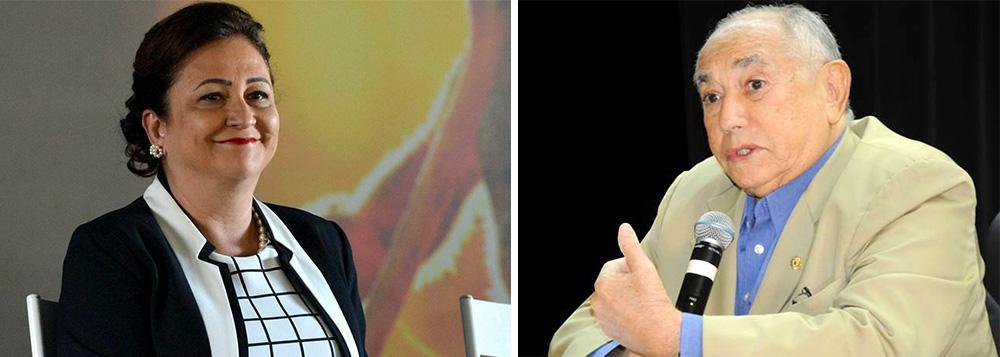 """A senadora Kátia Abreu (PMDB-TO) visitou o ex-governador Siqueira Campos nesta segunda-feira (20) no IOP, em Palmas, onde ele está internado após ser diagnosticado com um quadro de desidratação; de acordo com a parlamentar, Siqueira está bem disposto e """"com muita vontade de voltar pra casa"""". Durante a visita, os dois conversaram sobre vários assuntos, entre eles a situação do Tocantins e o Matopiba"""