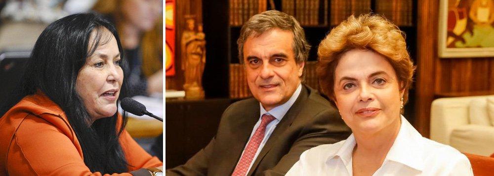 """Advogado da presidente afastada, José Eduardo Cardozo diz que declaração da senadora Rose de Freitas (PMDB-ES) é importante prova de defesa e evidencia """"desvio de poder"""" na abertura do processo de impeachment; """"A senadora foi muito transparente. Até porque, de fato, sendo presidente da Comissão Mista do Orçamento, estudou profundamente a matéria. É a prova, portanto, que não há fundamento para o impeachment"""", diz o ex-ministro; Rose disse neste sábado (25) à Rádio Itatiaia que """"não teve esse negócio de pedalada, nada disso. O que teve foi um país paralisado, sem direção e sem base nenhuma para administrar"""""""