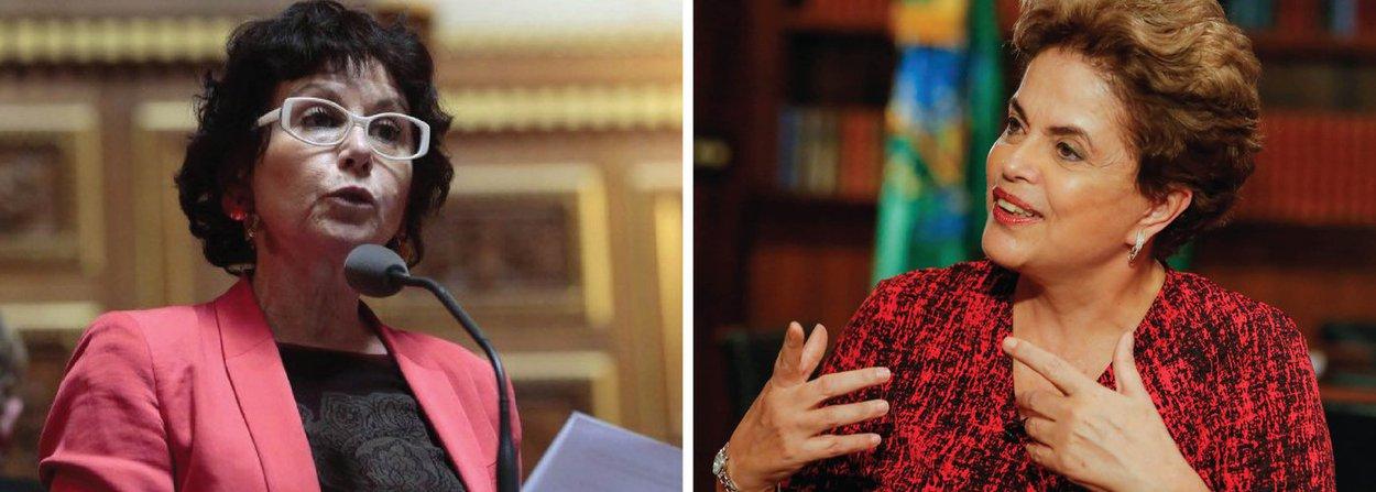 """""""A interrupção de um governo soberano é um atentado à democracia e ela nos interpela. A presidente Dilma Rousseff foi destituída injustamente. O modo utilizado chocou-me profundamente. Daí, eu reafirmo que se trata de um golpe institucional"""", declarou Laurence Cohen à jornalista Marilza de Melo Foucher; para a senadora francesa,""""com o passar do tempo, vimos que todas as acusações feitas contra Dilma não têm embasamento jurídico, trata-se de um complô, uma combinação entre os corruptos""""; ela também chama o governo interino de """"ilegítimo"""" e diz que ele """"não representa a diversidade do povo brasileiro"""""""
