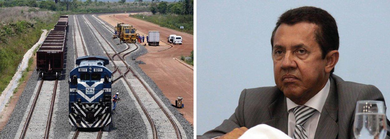 O Ministério Público Federal enviou à Justiça Federal ação penal em que pede a condenação de sete diretores da estatal Valec Engenharias, Construções e Ferrovias S/A e um empresário - pelo crime de peculato; denúncia é que o grupo desviou o equivalente a R$ 23,1 milhões durante a execução de um contrato para a realização de obras da ferrovia Norte-Sul, no Tocantins; entre os denunciados estão dois ex-presidentes da Valec, Luiz Raimundo Carneiro de Azevedo e José Francisco das Neves, o Juquinha, além do gestor do contato, Renato Luiz de Oliveira Lustosa