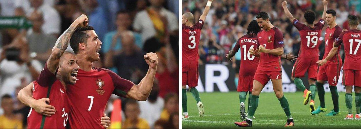 Portugal se classificou para as semifinais da Eurocopa ao derrotar a Polônia por 5 x 3 nos pênaltis depois de as duas equipes empatarem por 1 x 1 no tempo normal e na prorrogação nesta quinta (30)