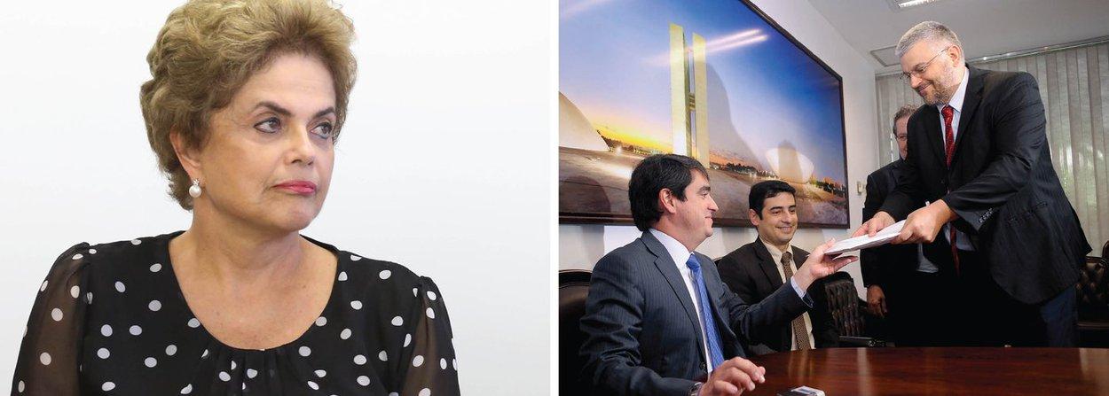 """Presidente Dilma Rousseff afirmou em entrevista à rádio Guaíba nesta segunda-feira 27 que a perícia do Senado entregue à comissão do impeachment, que desmonta a tese de que ela praticou """"pedalada fiscal"""", comprova que o processo """"não tem base legal""""; """"Começamos sendo acusados de seis decretos, agora a perícia diz que são três. E nesses três decretos não foi constatada nenhuma participação dolosa minha"""", destacou ainda a presidente; em novas críticas contra o governo interino de Michel Temer, ela destacou que""""o vice-presidente não foi eleito para ser presidente, tampouco o programa que ele está colocando em prática foi o aprovado pela população""""; e condenou vazamentos """"seletivos"""" na Operação Lava Jato; """"Deveriam ser punidos gravemente"""", cobra"""