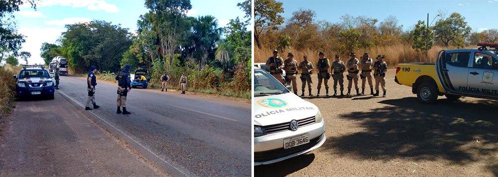 """Terminou nesta sexta-feira (8) a """"Operação Brasil Central Seguro"""", deflagrada de forma conjunta pela Polícia Militar do Tocantins e Polícia Civil em diversas cidades do Estado; foramabordadas 2.766 pessoas e 2.584 veículos, que resultaram na prisão de seis pessoas, 11 veículos apreendidos, cinco armas de fogo e 109 munições de diversos calibres apreendidas; em ação integrada com a PC foram cumpridos 128 mandados de prisão e de busca e apreensão, que culminaram com a prisão de 51 pessoas e a apreensão de 12 kg de maconha, 1,16 quilos de cocaína, além de 48 pedras de crack; a operação ocorreu simultaneamente em outros estados que integram o Consórcio Interestadual de Desenvolvimento do Brasil Central: Mato Grosso, Mato Grosso do Sul, Maranhão, Goiás, Minas Gerais e Distrito Federal"""