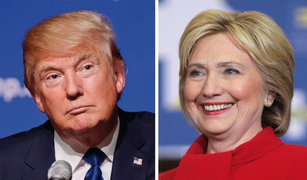 Pesquisa publicada neste domingo (27) pelo jornal norte-americano Washington Post e pela rede de TV ACB News, 51% dos entrevistados disseram que votariam na ex-secretária de Estado e apenas 39% no magnata republicano; parcial é a melhor até agora para Hillary, que teve 50% de apoio em março, antes de suas intenções de voto caírem para 44% em maio, quando Trump tomou a liderança