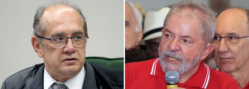 """Ministro do Supremo Tribunal Federal, Gilmar Mendes disse nesta sexta-feira 16 que a denúncia do Ministério Público permite agora uma defesa técnica da parte do ex-presidente Lula; """"O que é positivo nesse caso específico, que dá segurança ao ex-presidente Lula e seus advogados? É que agora ele tem uma denúncia. No mais é mimimi, trololó. Havendo uma denúncia, se defende da denúncia que foi proferida. Esse é o dado positivo"""", declarou"""