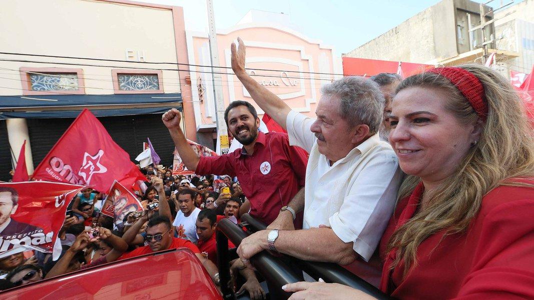 O presidente Lula participará da convenção do PT de Fortaleza que vai homologar a candidatura da deputada federal Luizianne Lins à Prefeitura. Com a possível vinda de Lula, foram mudadas a data e o local da convenção, prevista agora para o dia 1o. de agosto. O local ainda não foi definido