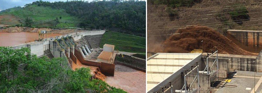 O último relatório do Ibama sobre as ações da Samarco na área mais degradada de Mariana (MG), onde se rompeu a barragem de Fundão, constata a falta de medidas para o carreamento de rejeitos acumulados ao longo de 102 km entre a Barragem de Fundão e a Usina Hidrelétrica Risoleta Neves, em Rio Doce, na Zona da Mata; como consequência, a barragem da usina corre o risco de rompimento, pois a estrutura sofre a pressão de 10,8 milhões de metros cúbicos de sedimentos